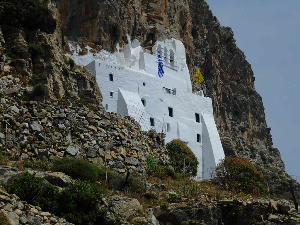 Photo: Monastery of Hozoviotissa, Amorgos