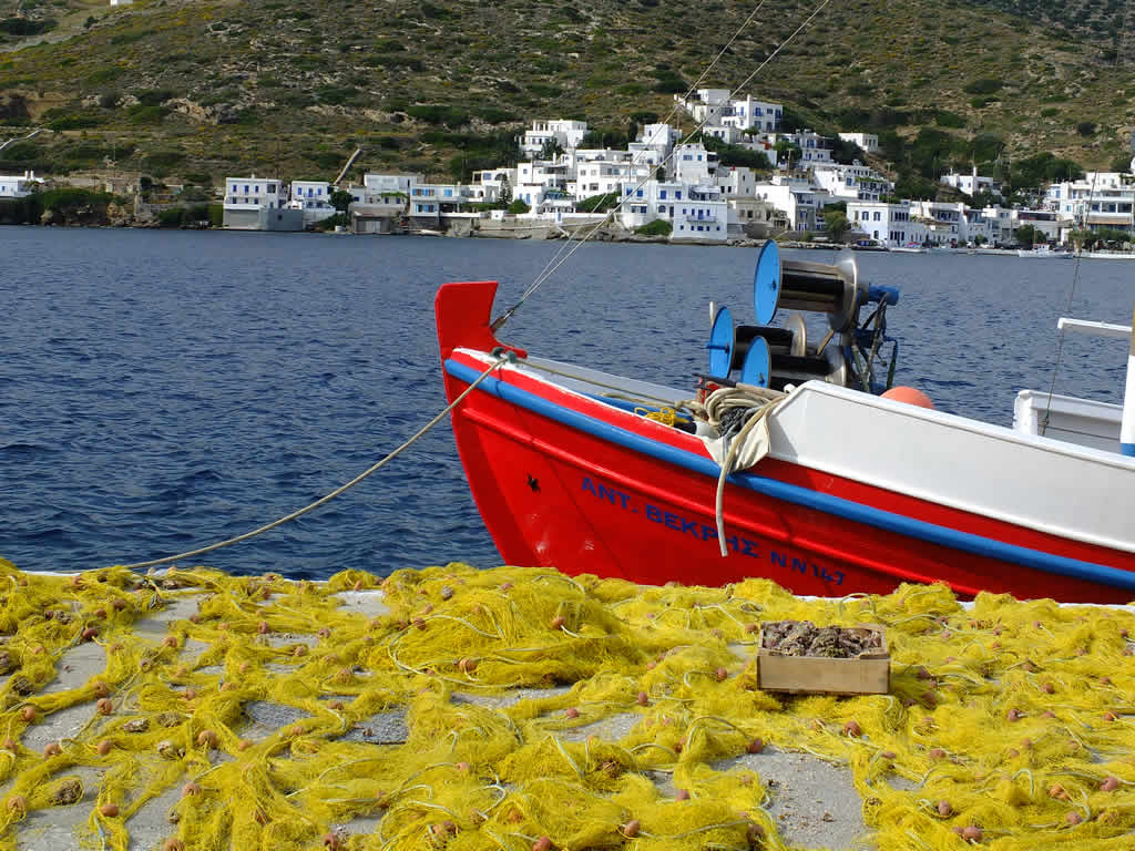 Photo: Katapola, Amorgos
