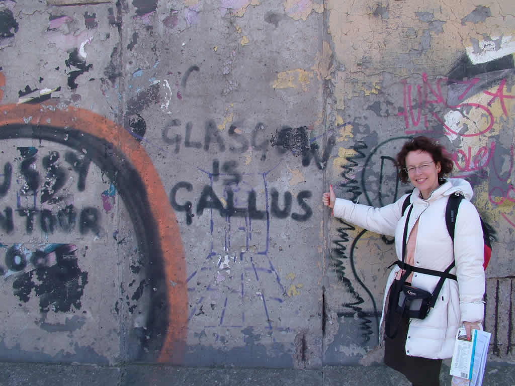 Photo: East Side Gallery, 2006