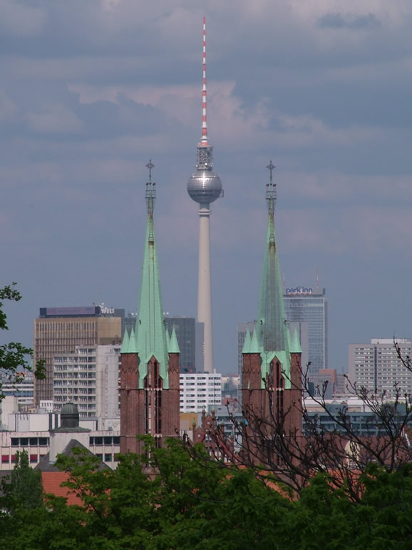 Photo: Fernsehturm and Spires