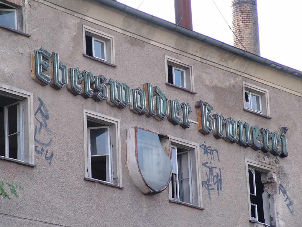 Photo: The old Eberswalde brewery