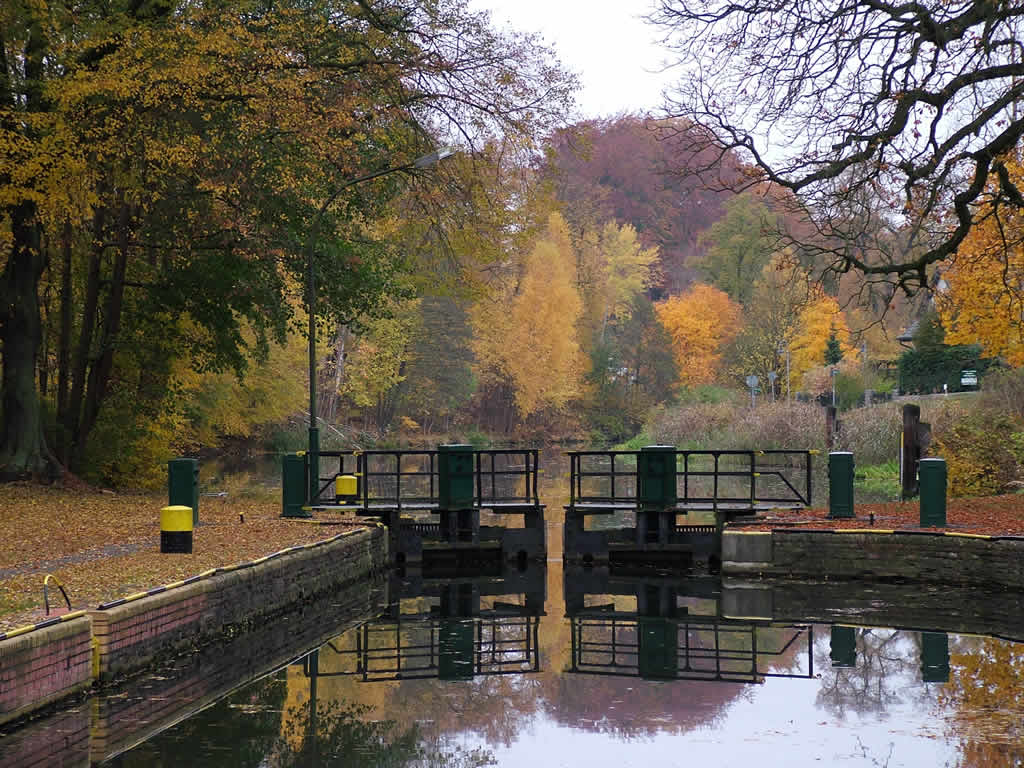 Photo: Old Canal Lock Autumn
