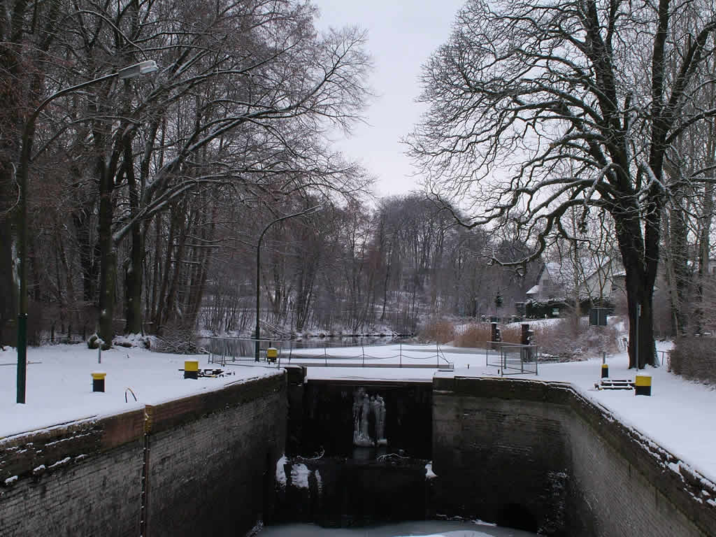 Photo: Old Canal Lock Winter