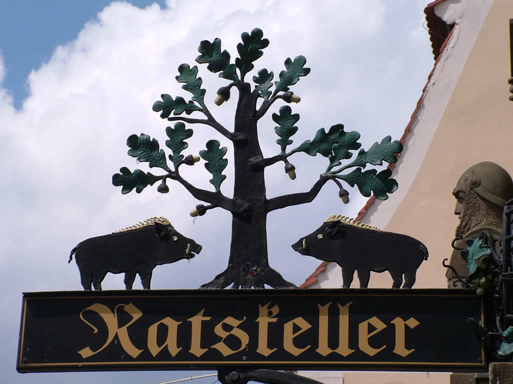 Photo: Eberswalde Coat of Arms at the Ratskeller