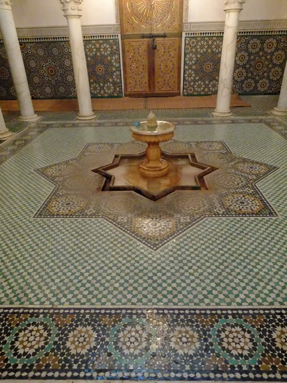 Photo: Mausoleum of Moulay Ismail, Meknes